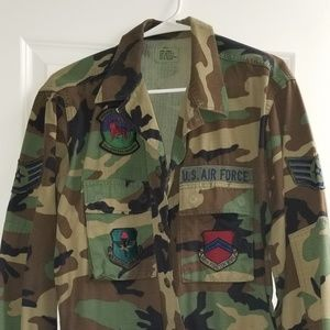 Camouflage Air force jacket